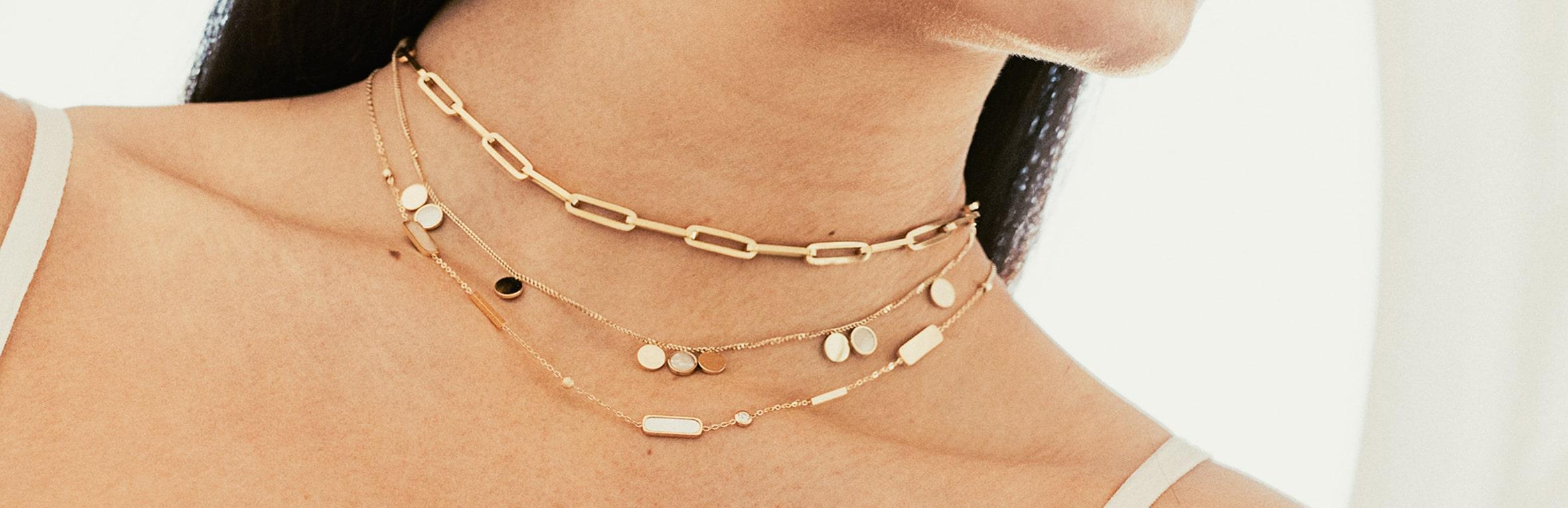 Le collier Zag, un bijou chic et tendance à petit prix